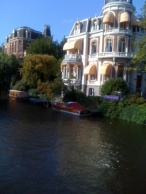 Every morning, I woke up and walked to breakfast along these beautiful canals..