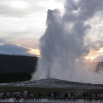 EVERY 95 MINUTES...OLD FAITHFUL